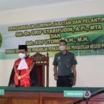 Pengambilan Sumpah Jabatan dan Pelantikan Hakim Adhoc Perikanan